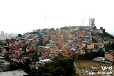 Las preciosas casitas de colores de Guayaquil, Ecuador