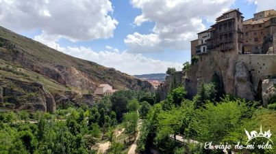 Las Casas Colgadas en Cuenca, España