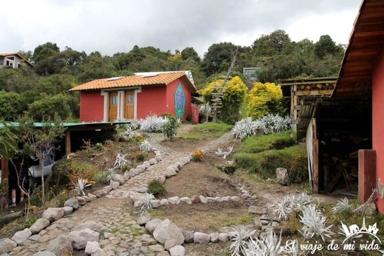 El hostel Secret Garden Cotopaxi en Ecuador
