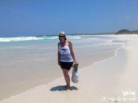 Playa Brava en Galápagos