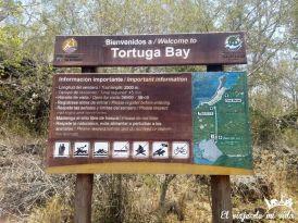 Llegada a Tortuga Bay, Galápagos