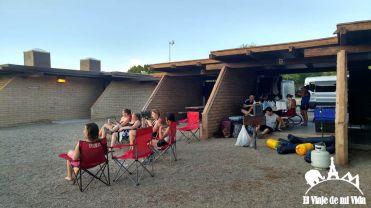 Camping en el Río Colorado