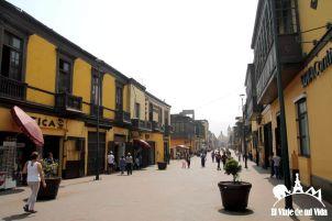 El barrio de Rimac en Lima