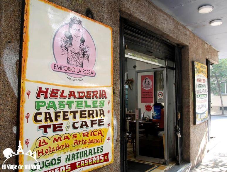 Heladería artesana de Santiago de Chile