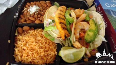 Tacos mexicanos de pescado por 9 dólares en Los Ángeles
