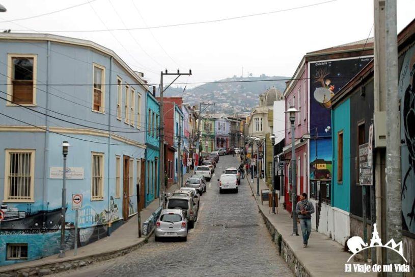 Las calles de Valparaíso