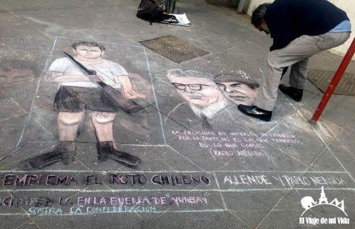 Recuerdos del pasado en Valparaíso