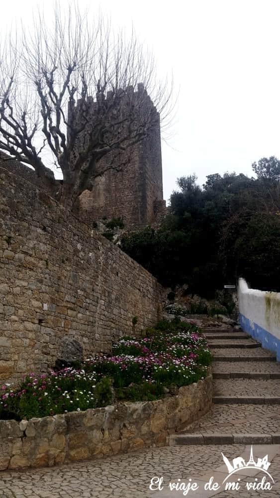 La muralla de Óbidos
