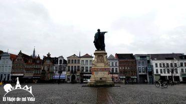 Vrijdagmarkt en Gante