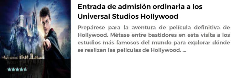 Entrada para Universal Studios