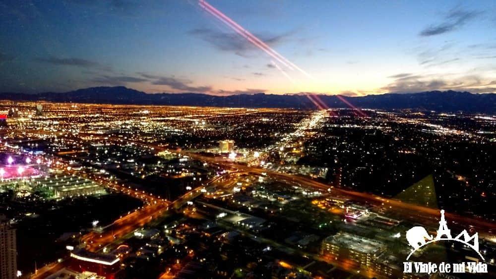 Vistas a Las Vegas desde la Stratosphere