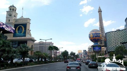 The Strip en las Vegas