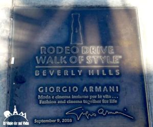 Walk of style, Rodeo Drive