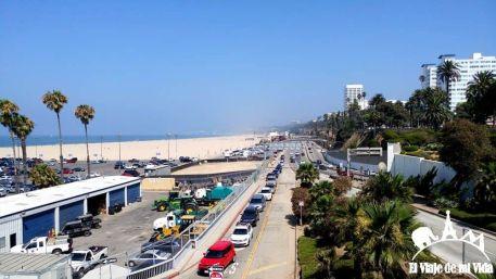 Entrada a Santa Mónica