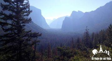 Salida de Yosemite en dirección a San Francisco