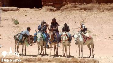 Paseos en burro en Petra