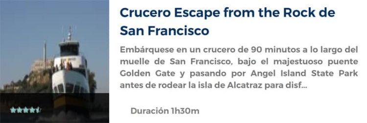 Crucero por la bahía de San Francisco
