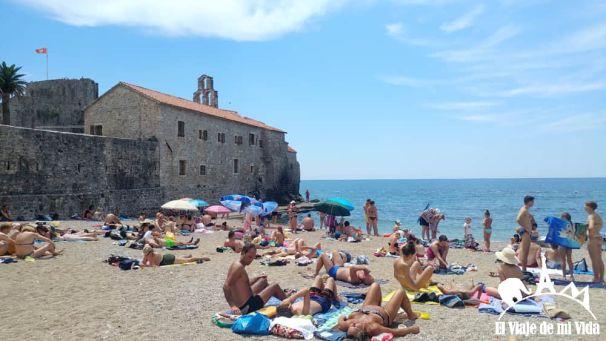 Las playas de Budva