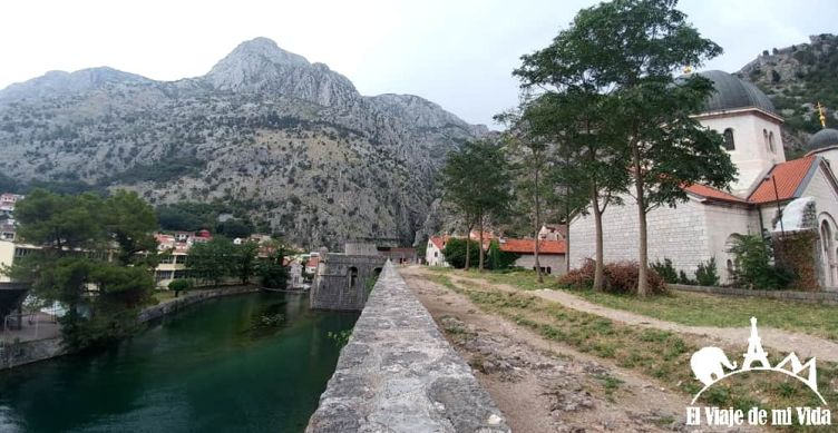 La muralla de Kotor