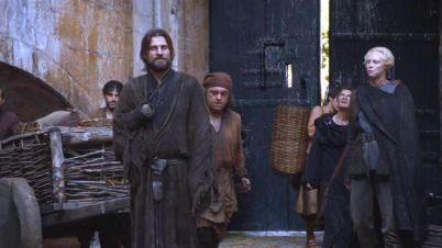 Llegada de Jamie en Juego de Tronos