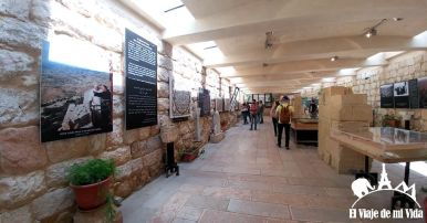 El museo del Monte Nebo