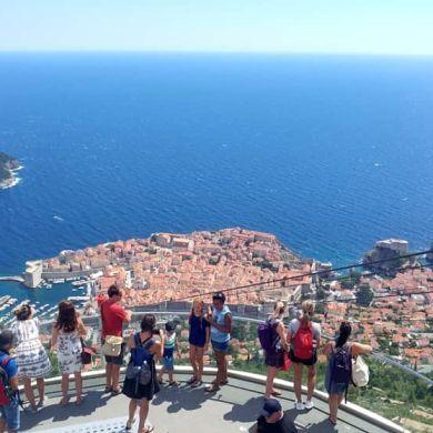 El teleférico de Dubrovniki