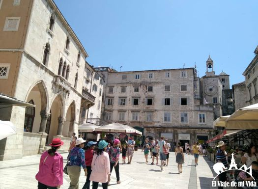 La ciudad vieja de Split