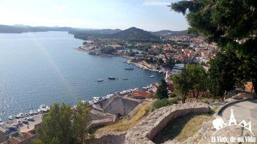 Vistas desde la fortaleza de Saint Michael