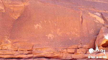 Petroglifos de Wadi Rum