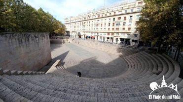 La plaza de los fueros