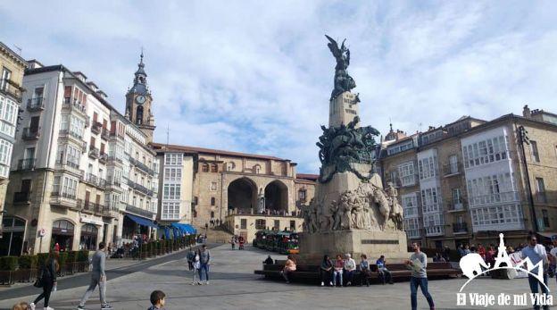La Plaza de la Virgen Blanca