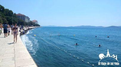 El Paseo marítimo de Zadar