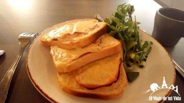 Sándwich caliente por unos 8 euros
