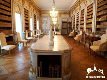 Biblioteca del Palacio de Drottningholm