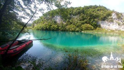 Parque alta de los Lagos de Plitvice