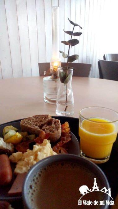 Desayuno Camp Ripan