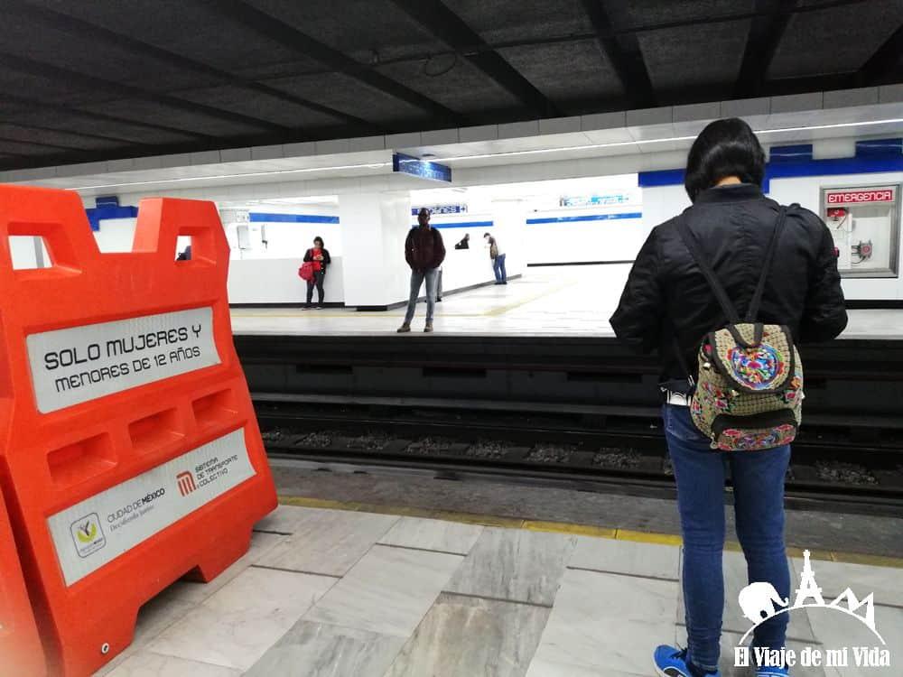 Metro en Ciudad de México