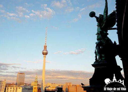 Vistas desde la Cúpula de la Catedral de Berlín