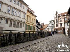 Calles adoquinadas de Quedlinburg