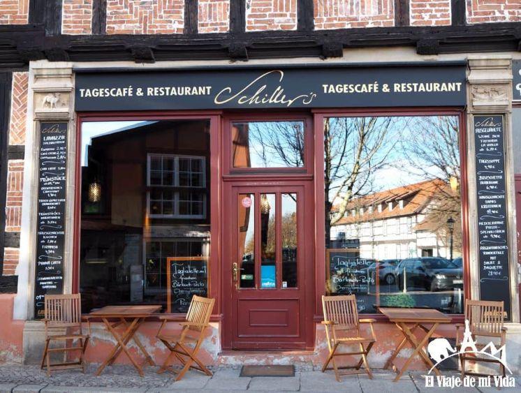 Encantadoras tiendas de Quedlinburg