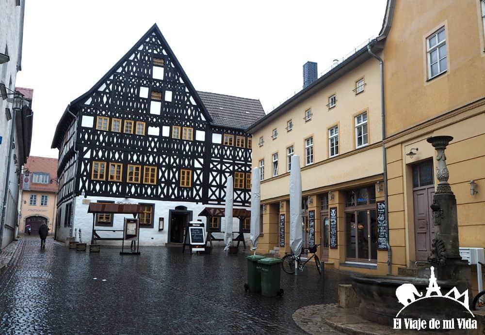 La Plaza del Mercado de Weimar