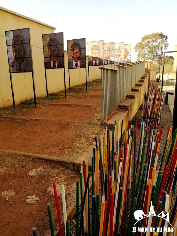 Museo Apartheid en Johannesburgo