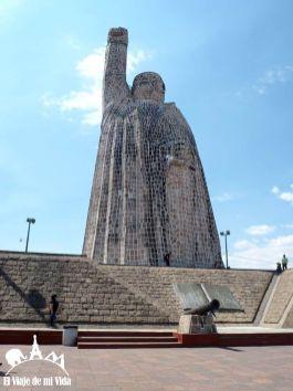 La estatua dedicada a Morelos