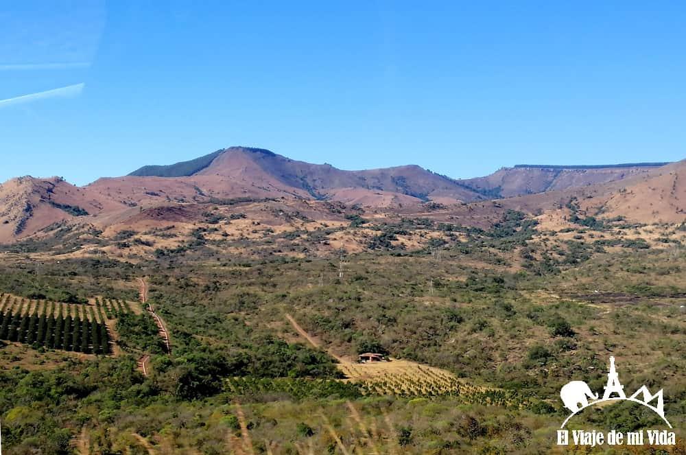 Paisajes de la región de Mpumalanga