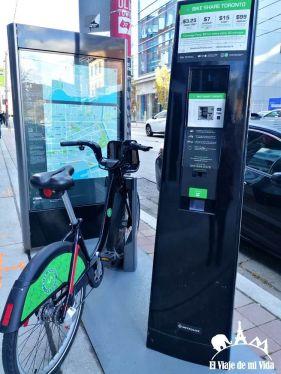 Bicicletas de alquiler en Toronto