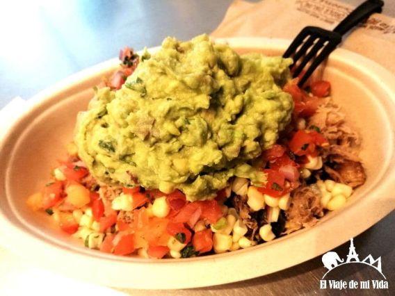 Plato comida mexicana: 12 euros