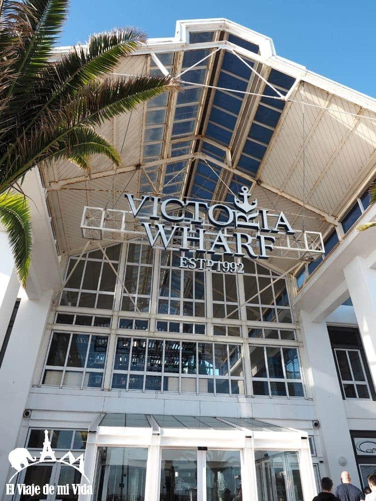 El Centro Comercial Victoria Wharf