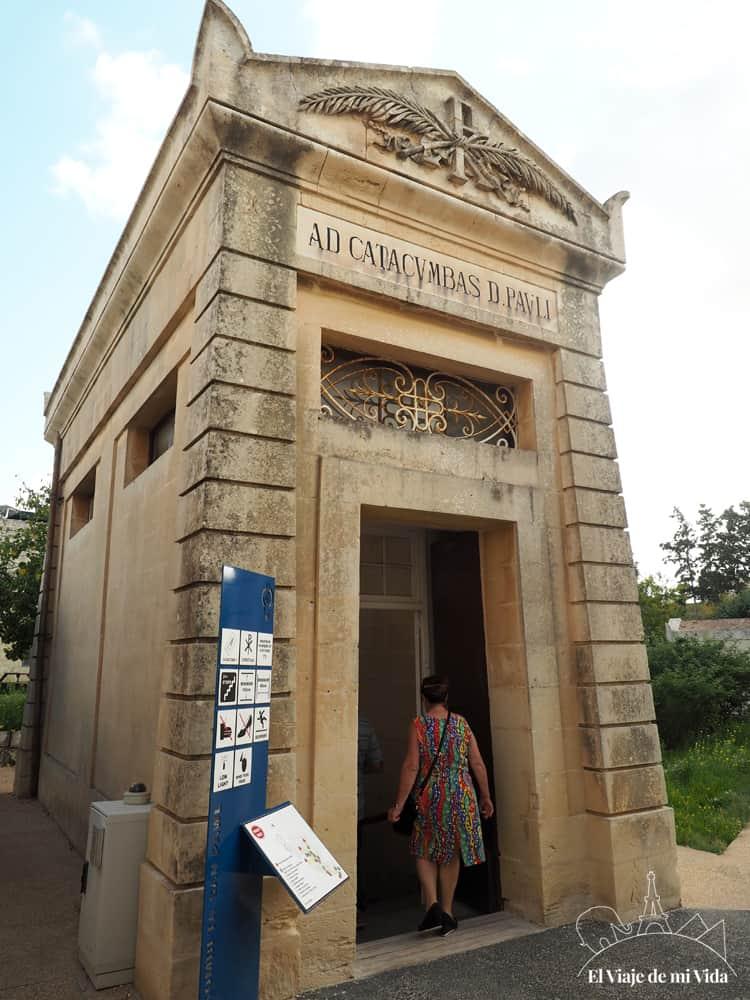 Las Catacumbas de San Pablo