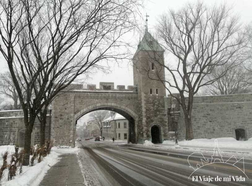 Las murallas de Québec