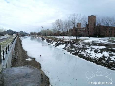 Canal Lachine en invierno
